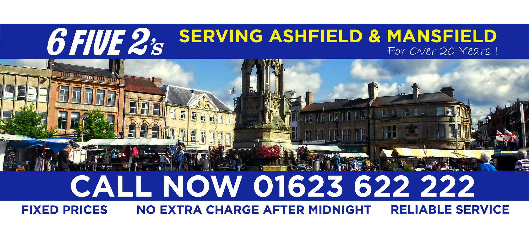 652's Private Hire Taxi Company in Mansfield and Throughout